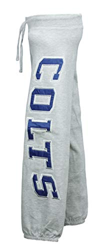 Outerstuff NFL Team Apparel Indianapolis Colts Youth Girls Heathered Fleece Pants (Medium)