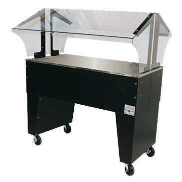Advance Tabco B3-STU-B Portable Solid Top Buffet Table (Buffet Solid Portable Table Top)