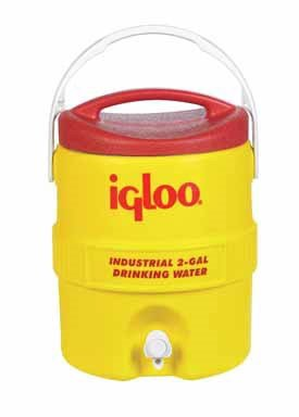 Igloo Beverage Cooler 2 Gal Yellow/Red by Igloo Corporation