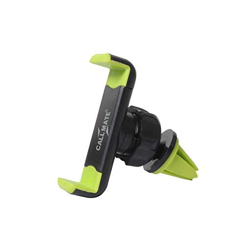 Callmate SZNO2 360 Rotation Car AC Vent Mobile Holder for All Mobiles/Tablets   Green