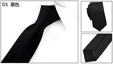 XIAMAZ Hombres Slim Fit Collar Negro Casual Flechas Apretado ...