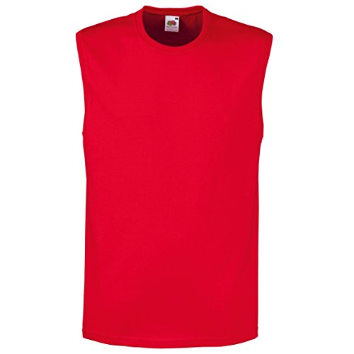 Fruit of the Loom  Herren Top Gr. M, rot