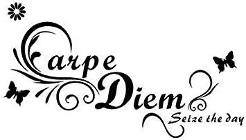 Rureng Carpe Diem Seize The Day Mariposas Tatuajes De Pared ...