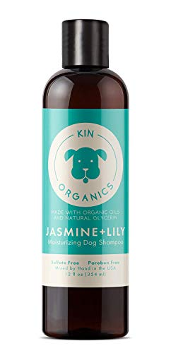 kin organics Jasmine+Lily Organic Dog Shampoo, 12oz