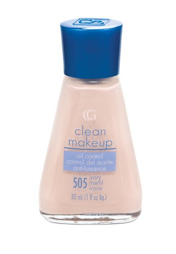 (CoverGirl Clean Oil Control Liquid Make Up, Ivory 505, 1-Ounce Packages (Pack of 2))