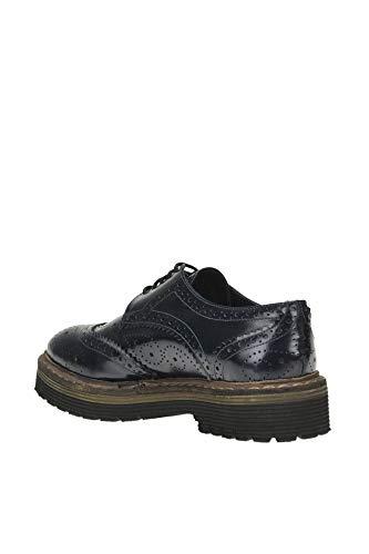 Mujer Collection Azul Yosh Cuero Cordones Zapatos MCGLCAB000004028I De O1wWq8g
