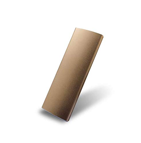 External Hard Drive 2TB, Portable Hard Drive External for PC, Laptop and Mac (2tb, Gold)