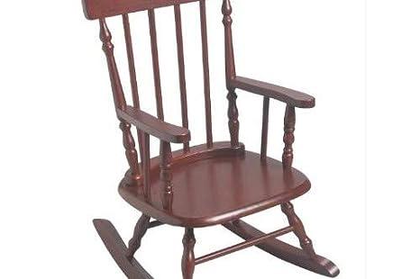 Peachy Gift Mark 1233 3700C Childrens 3700 Rocking Chair Cherry Machost Co Dining Chair Design Ideas Machostcouk