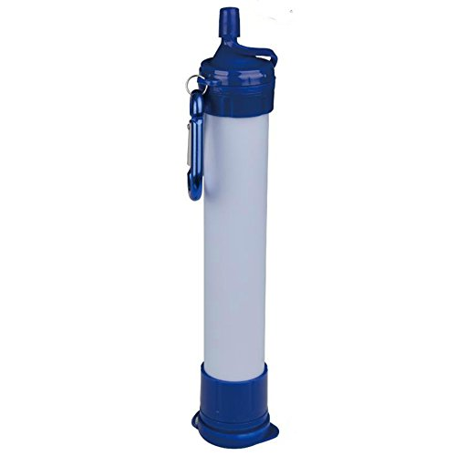 Naples Naturals AOK905X1 Camping Hiking Emergency Outdoor Water 0.2 Micron Filtration Straw by Naples Naturals by Naples Naturals