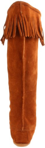 Minnetonka Womens 1429 Foran Blonder Kne-high Boot Brown