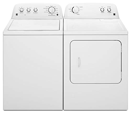 Kenmore Top-Load 7.0 cu. ft. Gas Washer and Dryer Bundle -White
