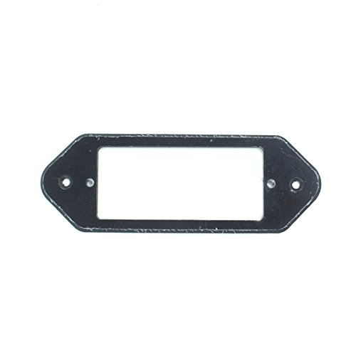 P90 Dog-ear to Mini Humbucker Pickup Adapter Ring ,1-Ply Black