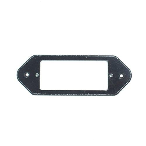 P90 Dog-ear to Mini Humbucker Pickup Adapter Ring ,1-Ply Black
