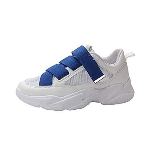 Shusuen Women's Memory Foam Sneaker Lightweight Running Shoes Jogging Exercise Footies