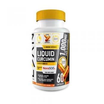 Lean activo líquido Curcumina - Alta Fuerza Curcumina cápsulas con Vitamina D - fabricado en el Reino Unido - 60 Cápsulas: Amazon.es: Salud y cuidado ...