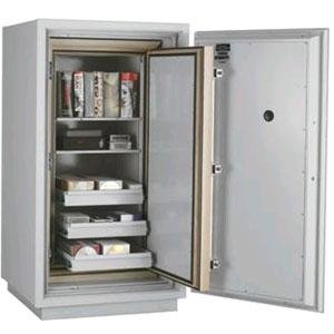 Fireking Data Safe Dm4420-3, 3-Hour Fire/Impact Rating 32-1/16 X 31 X 59-3/4 Platinum Finish