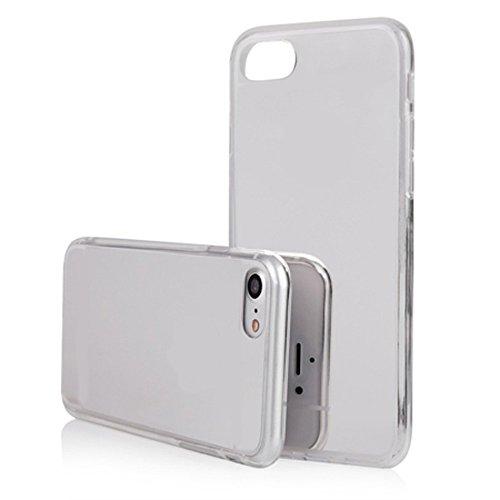 Smartcase Coque pour iPhone 7 Argent