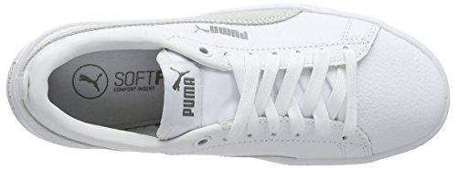 White Ginnastica Scarpe Puma puma Smash Donna Platform White puma Bianco Puma L Basse 06 da White wqXvUrXt