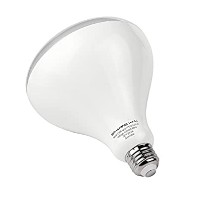 BR40 LED Bulb Dimmable 100W Equivalent, SHINE HAI, 3000K Soft White, LED Flood Light Bulb, E26 Base , Wide Flood Light, 110 Beam Angle, UL-Listed, Energy Star qualified, 6-Pack