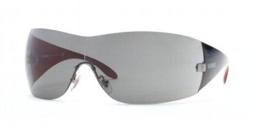 e997b997d1 Versace VE2054 Sunglasses-1001 87 Gunmetal (Gray Lens)-141mm ...