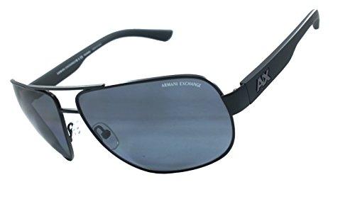 Armani Exchange Ax2012s 100% Authentic Men's Polarized Sunglasses Matte Black - Armani Sale Sunglasses