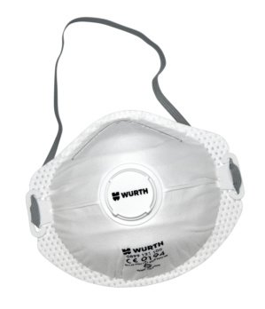 "Máscara respiratoria Wurth ""nivel de protección FFP2 ..."