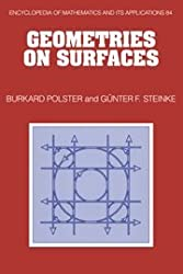 Geometries on Surfaces (Encyclopedia of Mathematics and its Applications)