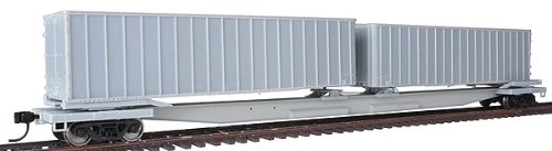 Walthers Gold Line(TM) HO Scale Mark III Flexi-Van Flatcar  with Two Trailers