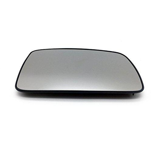 Ensun LR017067 Exterior Rear View Heated Convex Door Mirror Glass RH Passenger Side for Land Rover LR2 LR3 Range Rover -