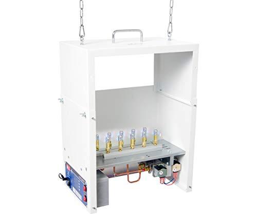 High Altitude Lp (AutoPilot APGP1000H CO2, 10 Burner, LP, High Altitude Generator, White)