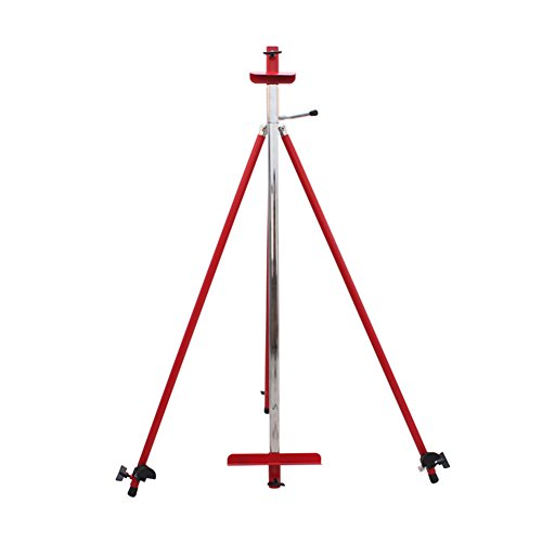 LXLA Tripod Studio Easel Stainless Steel Oil Painting Stand Outdoor Drawing Rack Rotatable Sketching Holder Wedding Advertising Activity Display