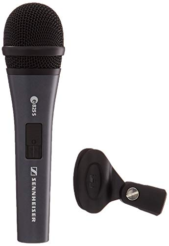 (Sennheiser E825-S Handheld Cardiod Dynamic Microphone with On/Off Switch)