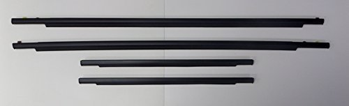 Toyota FJ Cruiser 2007 - 2014 Front & Rear Door Belt Mouldings Weatherstrip Genuine OEM OE ()