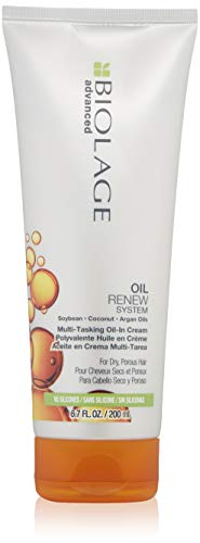 BIOLAGE Advanced Oil Renew Multi-Tasking-Oil-In-Cream, 6.8 Fluid Ounce