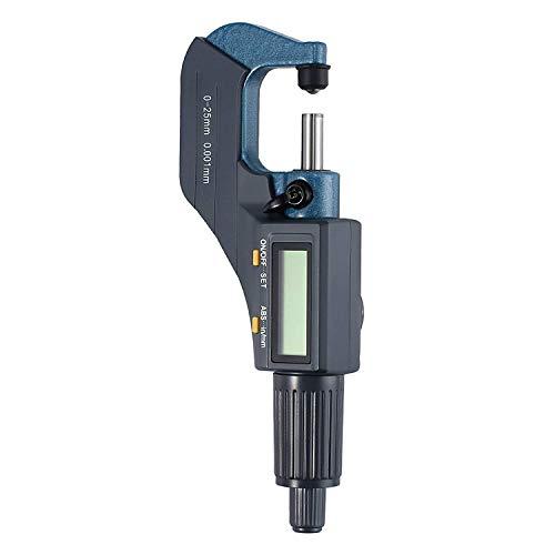 Justech Digital Electronic Micrometer 0-1