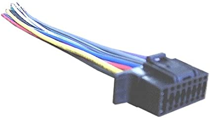 Amazon.com: Mobilistics Wiring Harness for Sony Car Stereo 16 pin Wire  Connector Select CDX, MEX S16B1: Car ElectronicsAmazon.com