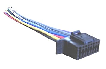Mobilistics Wiring Harness For Sony Car Stereo 16 Pin Amazon In Electronics