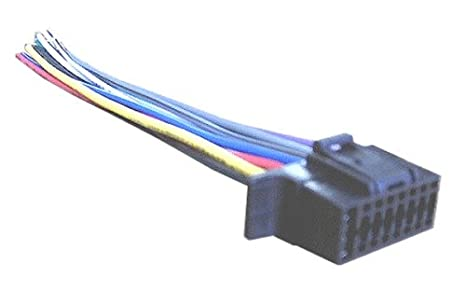 amazon com mobilistics wiring harness for sony car stereo 16 pin Sony Car Stereo