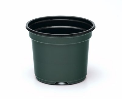 10 Inch Azalea Pot (Qty. 10), Plastic, Green, Includes 10 Flower Pots
