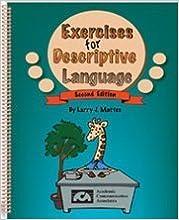 Exercises for Descriptive Language by Larry Mattes (1995-06-02)