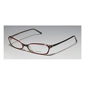 Vera Wang V104 Womens/Ladies Designer Full-rim Eyeglasses/Eyewear (51-17-130, Purple / Plum)