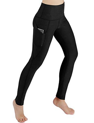 Yoga Pants for Women Hiking Pants Sports Pants Athletic Bicycle Leggings Black L (Best Underwear For Yoga)