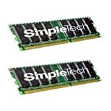 SimpleTech STA-G5400/512 512MB PC3200 DDR 184pin DIMM