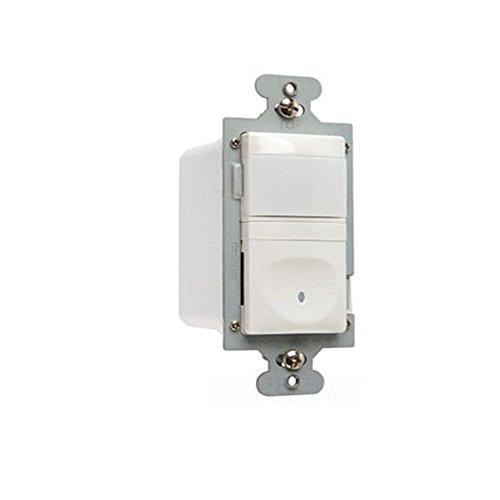 Legrand - Pass & Seymour RW500UWCC4 Wall Occupancy Sensor Two Wire 500-watt Easy Install, White