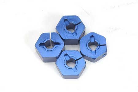 ST Racing Concepts ST3654-14B 14mm Clamp Wheel Hex Adapter (Blue)