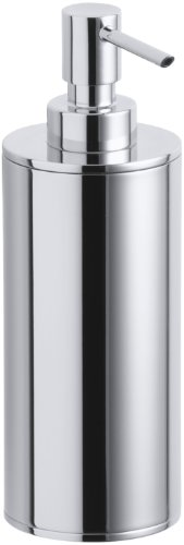 Kohler K-14379-CP Purist Countertop Soap Dispenser, Polished Chrome ()