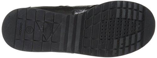 Women's 8 M 38 EU Deynna Sneaker US Black 3 Geox dx8RwUqdf