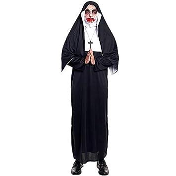 Disfraz Monja Maldita Adulto Unisex (Talla L) Halloween: Amazon.es ...