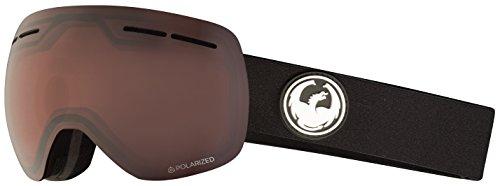Dragon Alliance X1s Ski Goggles, Black, Medium, Black/Luma Polarized Lens
