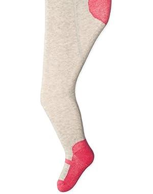 Baby-Girls Newborn Pink Maryjane Tights (Pack of 1)